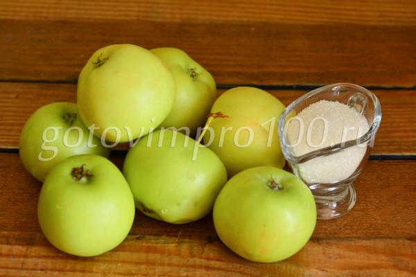 Пюре из яблок на зиму без стерилизации: Ингредиенты