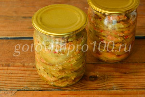 Вкусные баклажаны на зиму-11