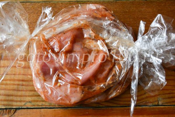 Шашлык из свинины в духовке-5