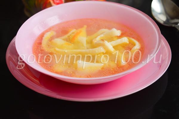 Суп лапша с курицей-10
