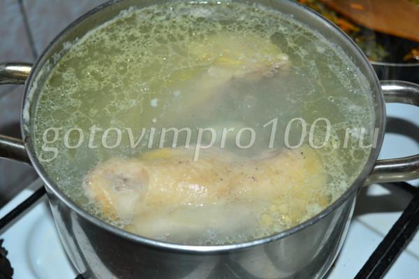 Суп лапша с курицей-8