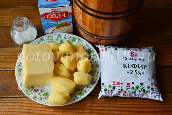 Хычины с картошкой и сыром-1