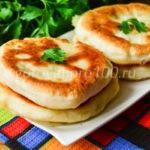 Хычины с картошкой и сыром