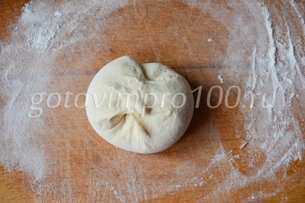 Хычины с картошкой и сыром-9