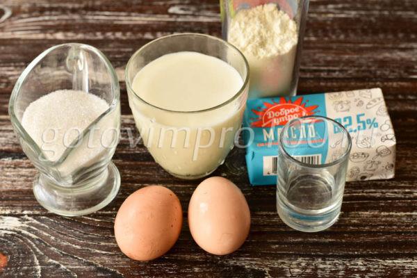 Умное пирожное Ингредиенты